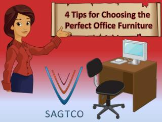 4 Tips for Choosing the Perfect Office Furniture