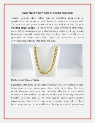 Tampa custom jewelers