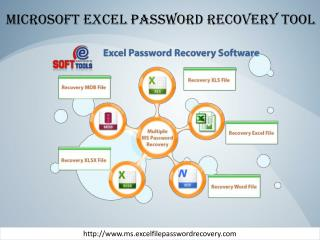Microsoft Excel password recovery tool