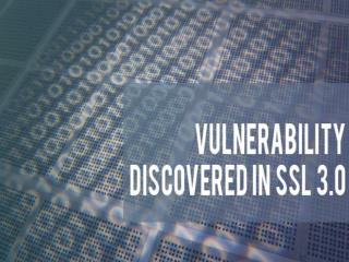 Vulnerability Discovered in SSL 3.0