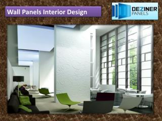 Wall Panels Interior Design