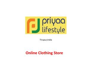 Menswear Online Shopping in India