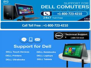 Dell Technical Support Number USA and Canada|1-800-723-4210| DELL Help
