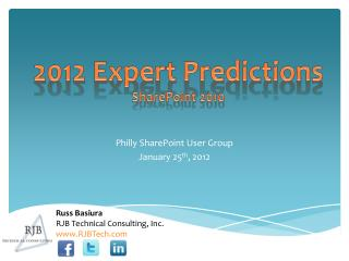 2012 Expert Predictions SharePoint 2010