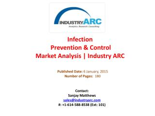 Infection Prevention & Control Market Analysis | IndustryARC