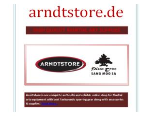 HIGH QUALITY MARTIAL ART SUPPLIES | Arndtstore.de