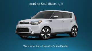 2016 Kia Soul Specifications | Westside Kia