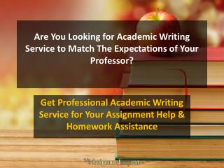 online Academic Writing service