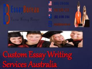 Custom Essay Writing Services Australia