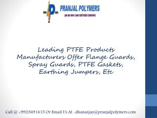 PTFE Envelope Gasket Manufacturers