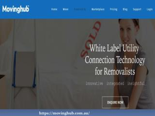 White Label Utility Connection Software for Removalists