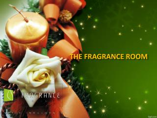 The fragrance room Christmas Candle Collection