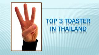 Top Toasters In Thailand