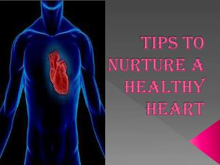 Tips To Nuture A  Heart