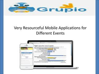 Mobile app for events