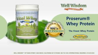Best Grass Fed Whey Protein Powder  - Well Wisdom