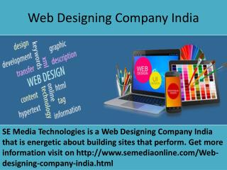 Increase your online presence through the SEO services of SE Media Technologies