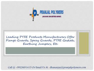 PTFE Flange Guards