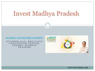 Investment in Madhya Pradesh