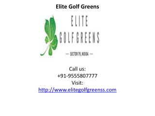 Elite Golf Greens modern feature and facilities