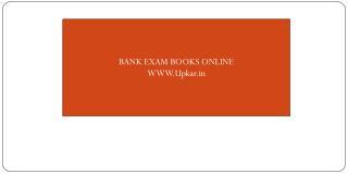 Buy Banking Entrance Exam Books Online