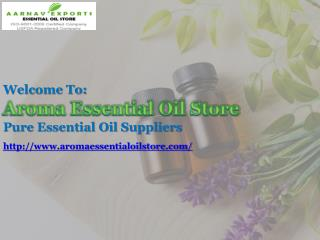 Collect Essential Oils Online at Aromaessentialoilstore.com