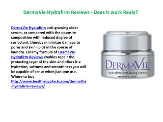 Where to Buy dermavie hydrafirm anti-aging cream?
