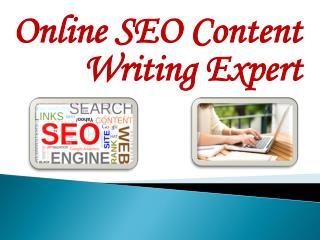 Online SEO Content Writing Expert