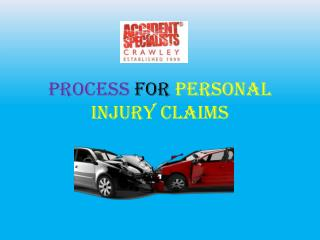 Process For Personal Injury Claims