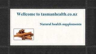 tasmanhealth.co.nz | Nature's Way Cinnamon