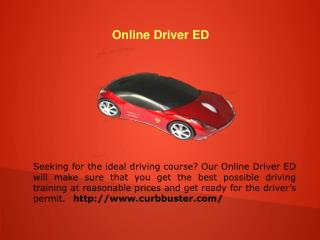 Texas approved drivers ED
