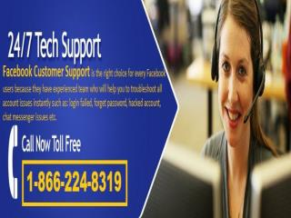 Facebook Customer Support: The best in town @ 1-866-224-8319 (toll-free)