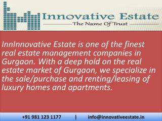 Innovative Estate - Real Estate in Gurgaon