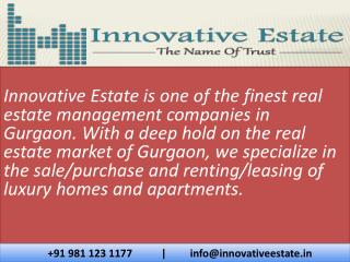 Innovativeestate - Real Estate in Gurgaon