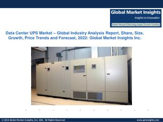 Data Center UPS Market size revenue worth $6.5bn by next seven years