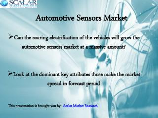 Analysis of Automotive Sensors Market