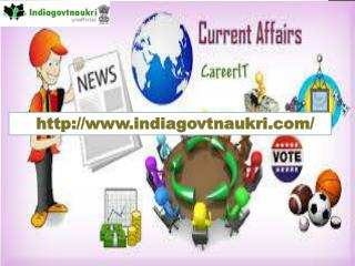Govt jobs in Punjab- Indiagovtnaukri.com- exam result- Daily Current Affairs