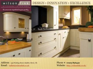 German Kitchens London | Kitchen Specialists in London - Wilson Fink
