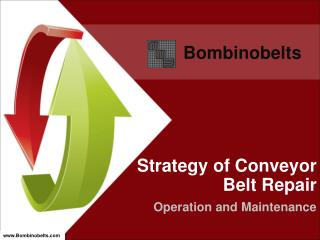 Strategy of Conveyor Belt Repair - Operation and Maintenance