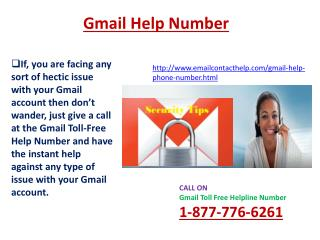 Quick Solution on Gmail Phone number 1-877-776-6261 hacked Gmail account issue