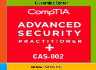 Certified CompTIA Certifications Courses