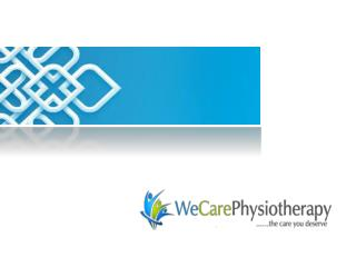 WeCare Physiotherapy and Sports Injury Rehabilitation Centre