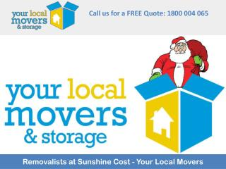 Removalists at Sunshine Cost - Your Local Movers