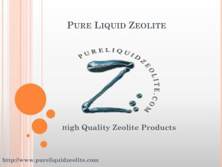 Best Liquid Zeolite Products