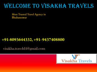 Tour and Travel in odisha