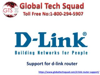 D-link router ip address toll free:1-800-294-5907