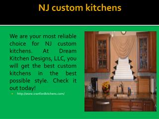 NJ custom kitchens