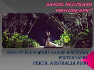 Best wedding photographer perth