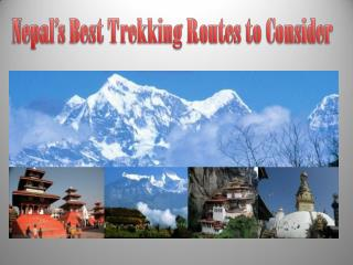 Nepal�s Best Trekking Routes to Consider