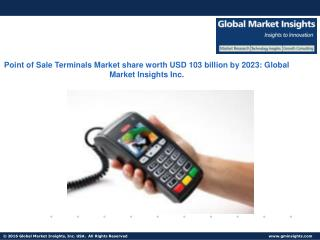 POS Terminals Market size revenue worth over $103bn by next seven years